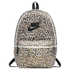 NIKE • Leopard Animal Print Backpack • NWT.